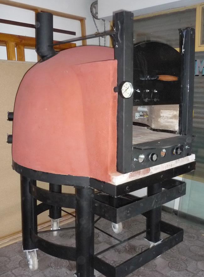 Hornos de barro a le a y a gas artesanales tatacu horno - Hornos de lena metalicos ...