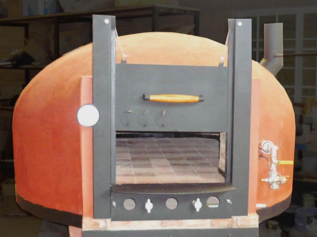 Hornos de barro a le a y a gas artesanales tatacu horno for Hornos para cocina precios