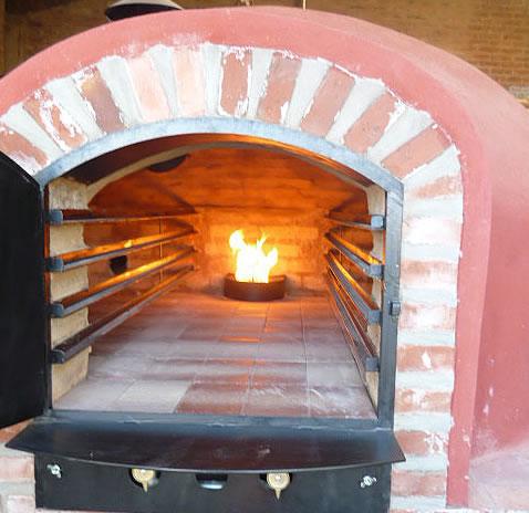Hornos de barro a le a y a gas artesanales tatacu horno comercial - Rejillas de barro ...