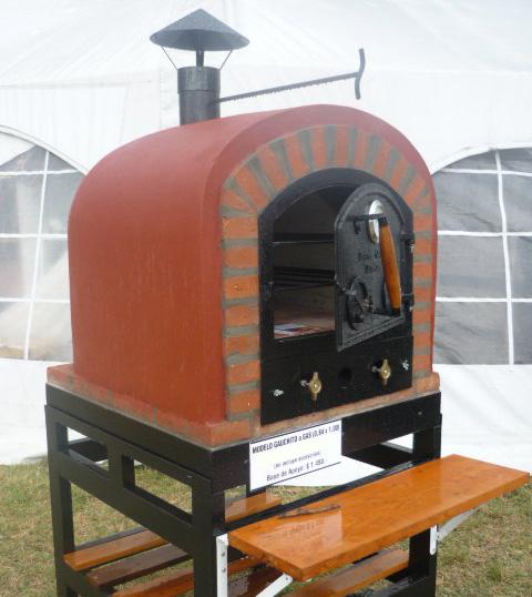 Hornos de barro a le a y a gas artesanales tatacu horno for Medidas de hornos pequenos