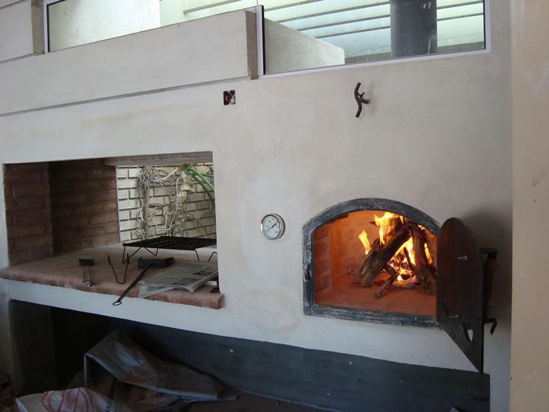 Pin horno pizzero 6 pizzas fam el mejor y mas economico - Hornos de lena planos ...
