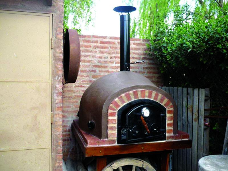 Hornos de barro a le a y a gas artesanales Tatacu