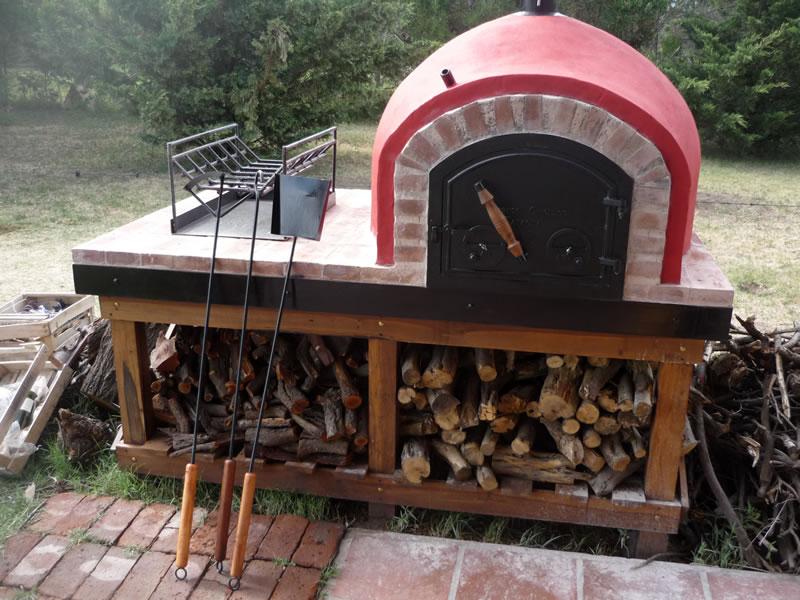Hornos de barro a le a y a gas artesanales tatacu - Como hacer horno de lena paso a paso ...